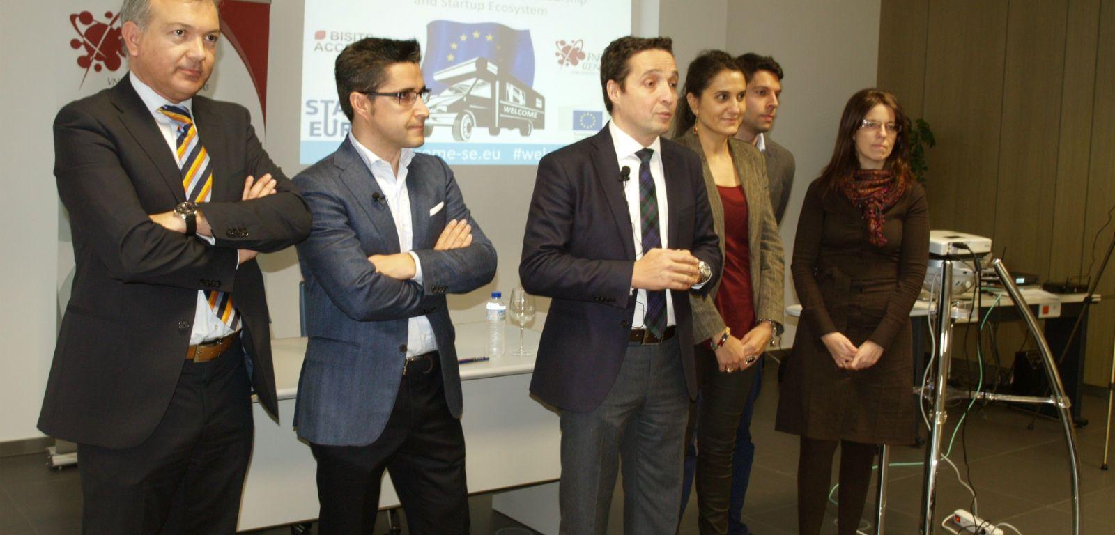 Juan Manuel Corchado presenta el proyecto Welcome