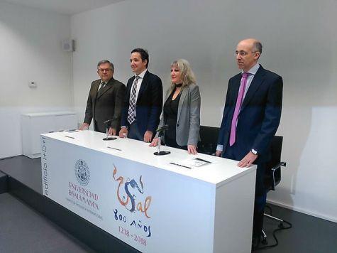 Narciso Martín, Juan Manuel Corchado,Julia Almeida y César Raposo