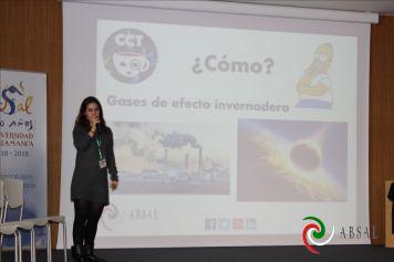 """Ana Gallego hablando sobre Terraformación con su charla """"Make Universe Great Again"""""""