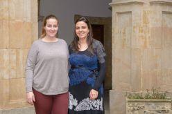 Julia Vicent y Zoila Guisuraga, psicólogas de la Asociación Asperger Salamanca. Foto: Sergio Manzano (USAL)