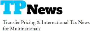 News, updates, and analysis on transfer pricing, BEPS, and international tax issues