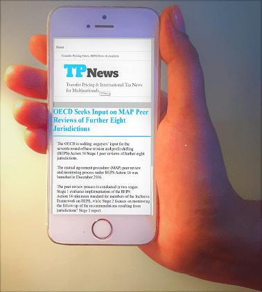 Transfer Pricing News