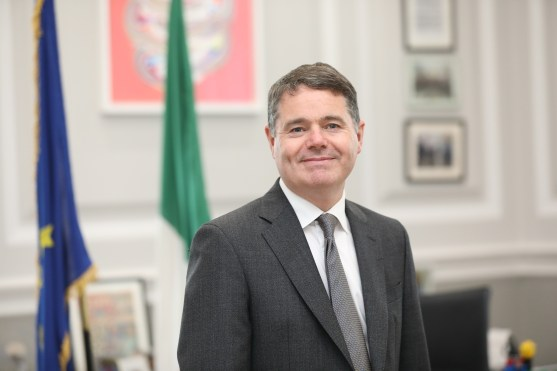 Paschal Donohoe discussion on international tax reform