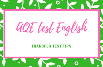 AQE test Transfer test English