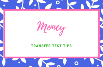 Transfer test tips AQE test maths Money