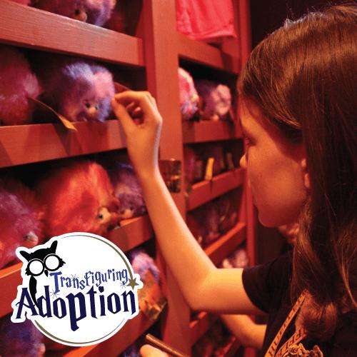 Adoptive Kids Need To Adopt A Pygmy Puff At Universal Studios