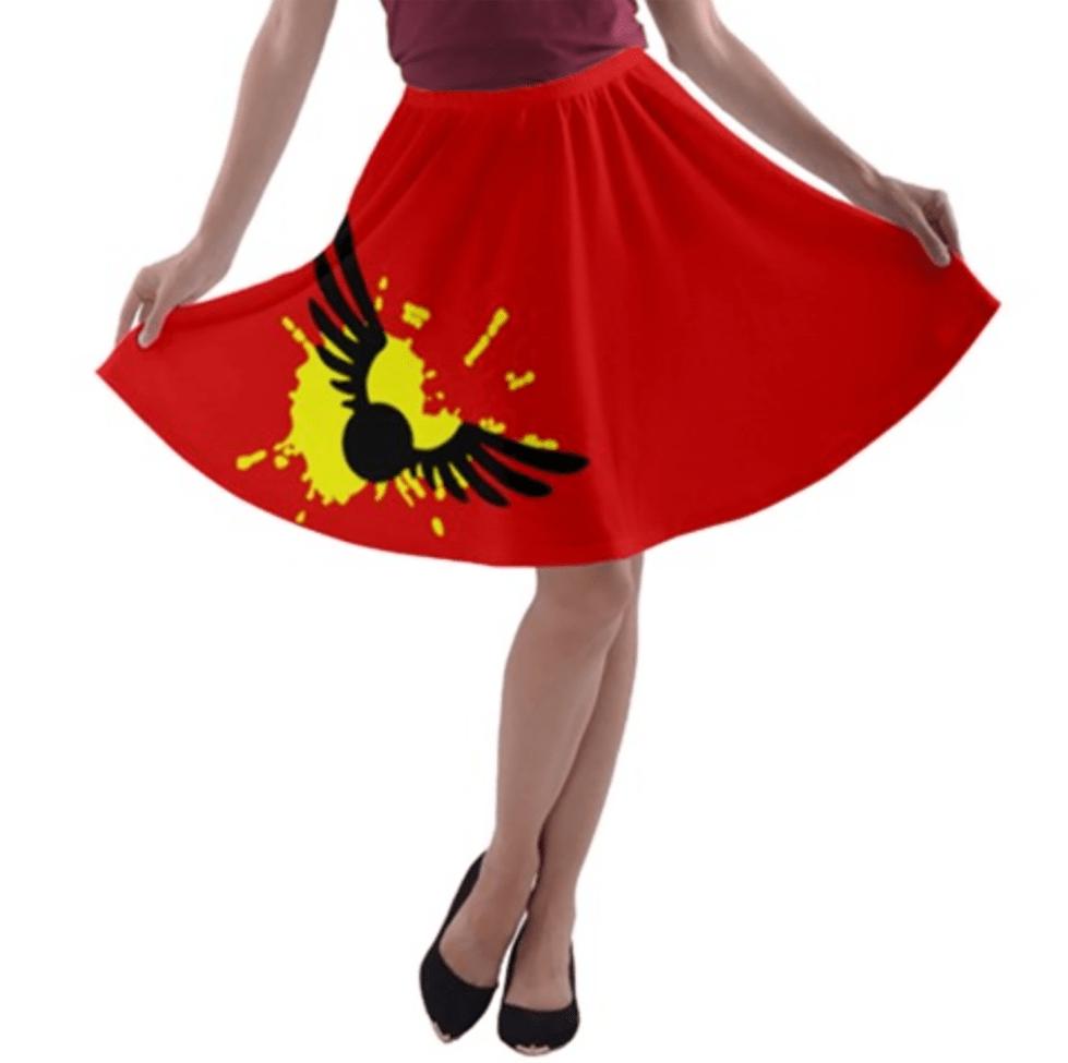Magical Sport Design A-line Skater Skirt