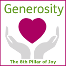 TC350: Cafe Book Club presents The Book of Joy – Pillar 8: Generosity