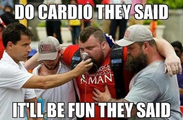 cardio ou muscu