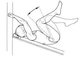 enroulé de bassin pour le bas des abdominaux
