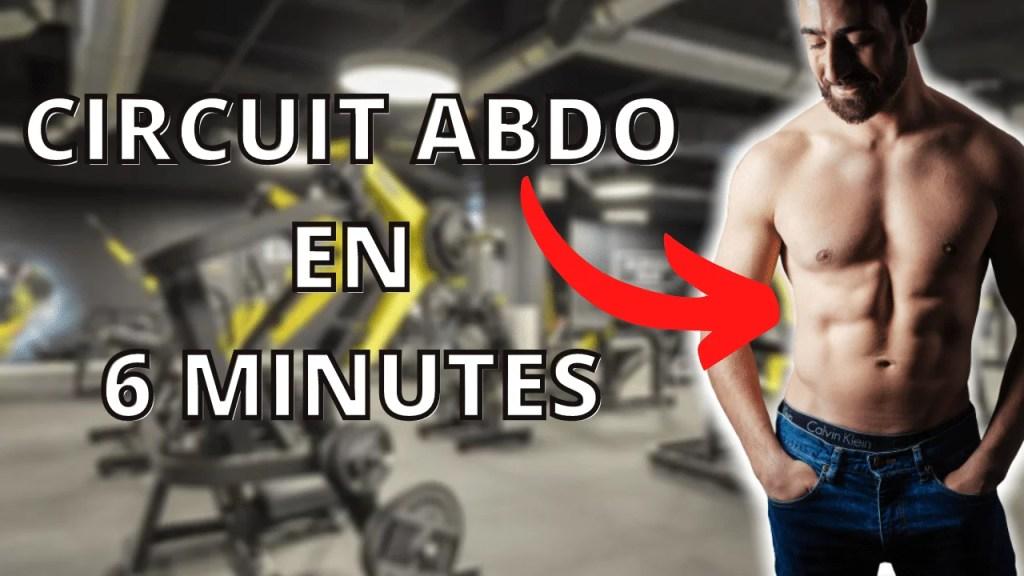 circuit abdo sans matériel en 6 minutes