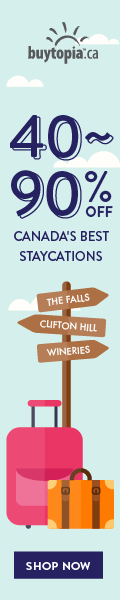 40%-90% off Canada's best staycations at Buytopia.ca!