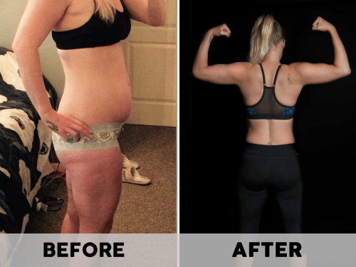 Barbell Booty Before & After2