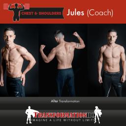 HQ Chest & Shoulders 1000 Jules Coach