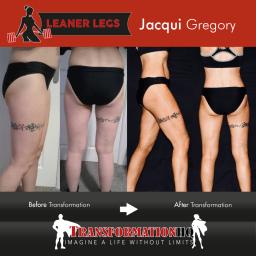 HQ Leaner Legs 1000 Jacqui Gregory
