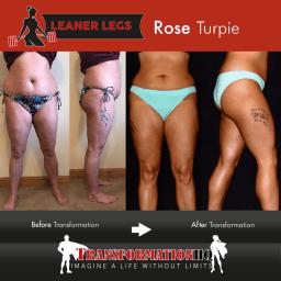 HQ Leaner Legs 1000 Rose Turpie