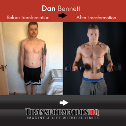 Transformation HQ Before & After 1000 Dan Bennett