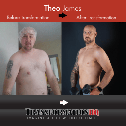 Transformation HQ Before & After 1000 Theo James