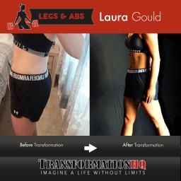 HQ Leaner Legs 12x12 Laura Gould