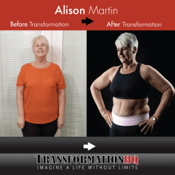 Transformation HQ Before & After 24x24 Alison Martin