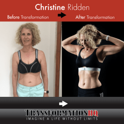 Transformation HQ Before & After 24x24 Christine Ridden