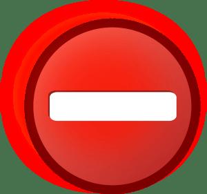 no access, symbol, icon