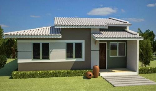 cores de fachadas de casas modernas