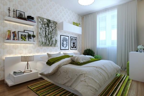 use cores na decoracao Papel de Parede Branco (2)