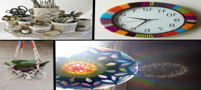 Artesanatos Com Reciclagem Para Decoração