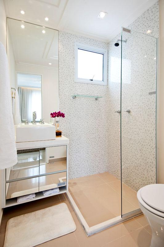 abuse dos espelhos Decoração Para Banheiro