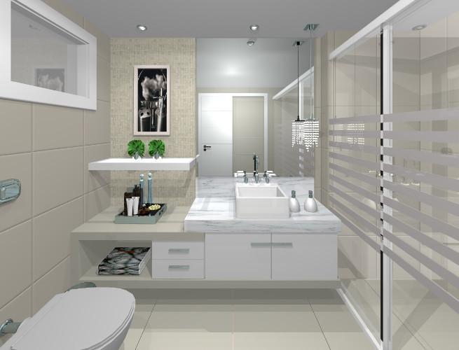 Banheiros pequenos – Dicas de decoração, fotos (5) dicas de decoração fotos