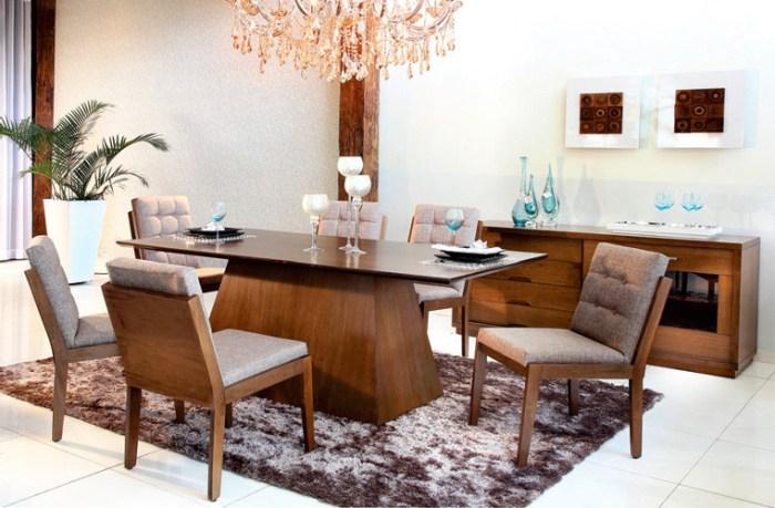 Cadeiras modernas para sala de jantar – Estofadas, Design (4) dicas de decoração fotos