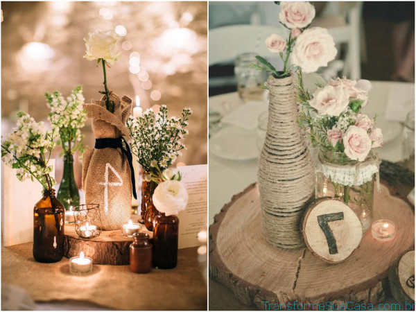 Casamento Rústico – Como decorar 2 dicas de decoração como decorar como organizar