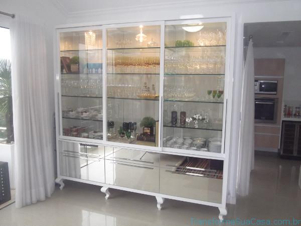Cristaleiras para sala de jantar – Como usar 4 dicas de decoração como decorar como organizar