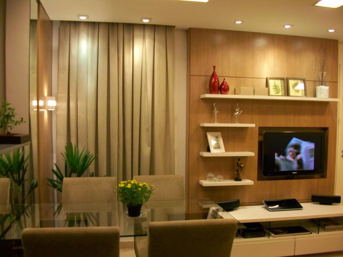 Decoração de sala de apartamento – Como decorar (6) dicas de decoração fotos