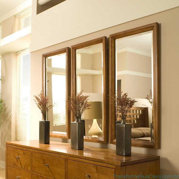 Espelhos decorativos – Como usar 8 dicas de decoração como decorar como organizar