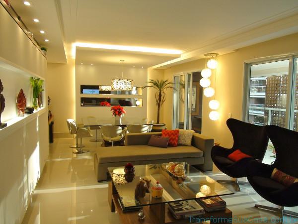 Iluminação de LED – Como fazer 4 dicas de decoração como decorar como organizar