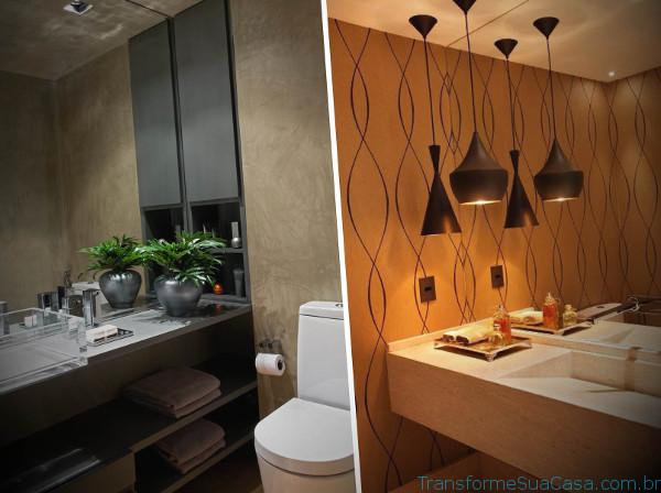 Lavabos modernos – Como decorar (4) dicas de decoração como decorar como organizar