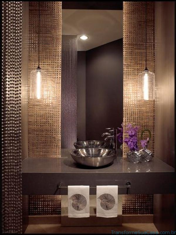 Lavabos modernos – Como decorar (6) dicas de decoração como decorar como organizar
