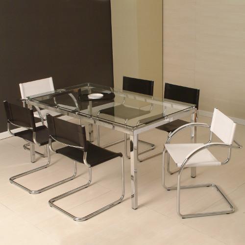 Mesa de jantar de vidro – Como escolher, dicas, fotos (3) dicas de decoração fotos