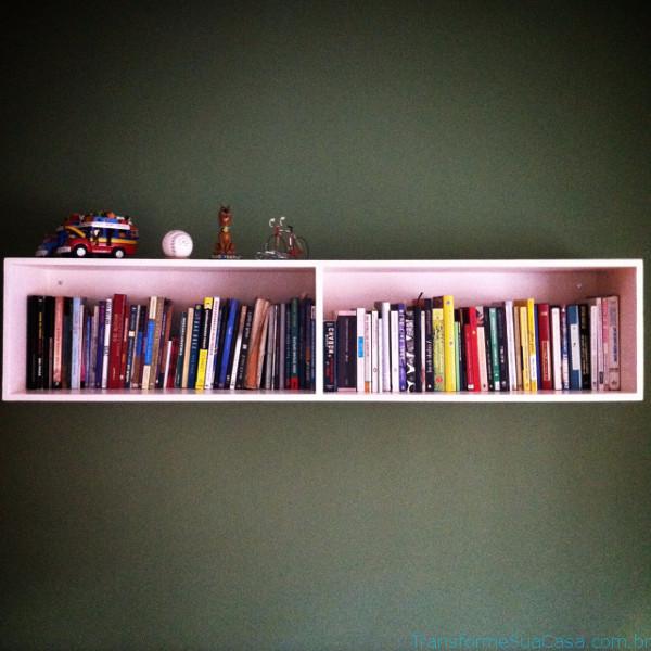 Prateleira para livros – Como escolher (10) dicas de decoração como decorar como organizar
