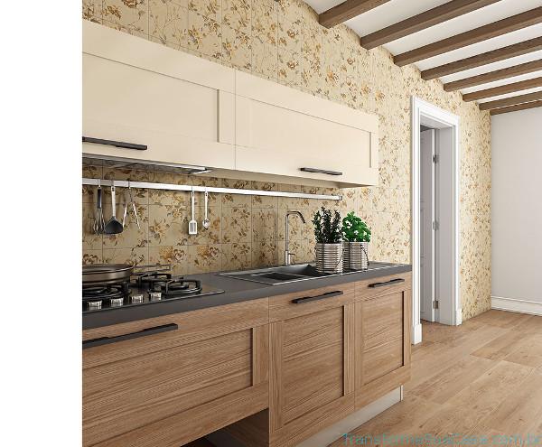 Revestimento para cozinha – Como escolher (6) dicas de decoração como decorar como organizar