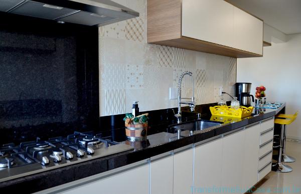 Revestimento para cozinha – Como escolher (7) dicas de decoração como decorar como organizar