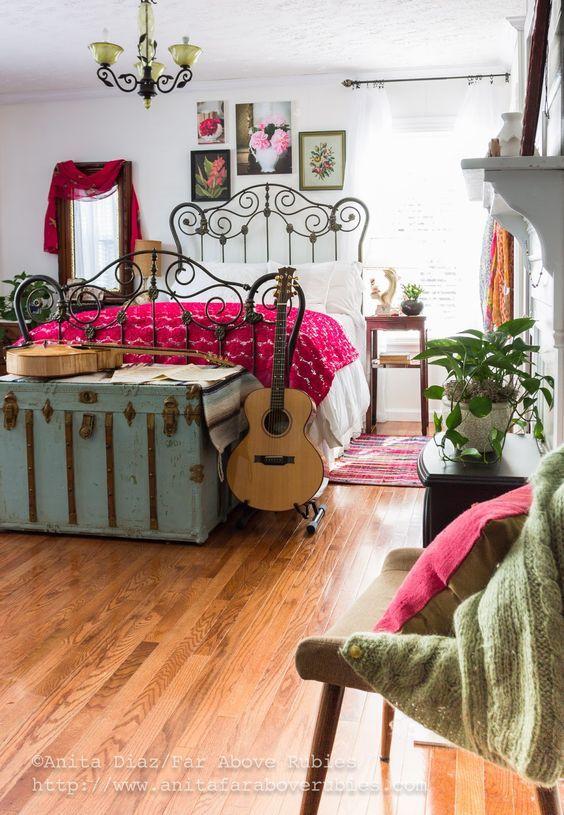 Decoração Boho Chic: Os móveis
