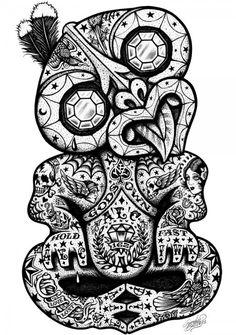 tatuagens Maori Hei Tiki