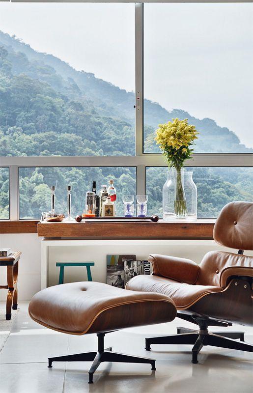 A criação poltrona Charles Eames