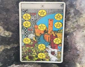Ten of Pentacles with Cancer New Moon | Transformind Tarot