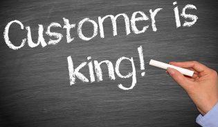 Customer is king