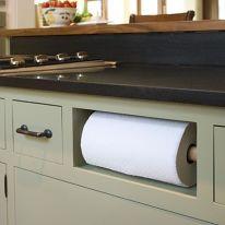 Save countertop space! :)