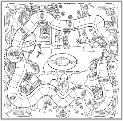 coloring pages of board games - photo#7